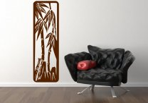 Abstract Bamboo Wall Sticker