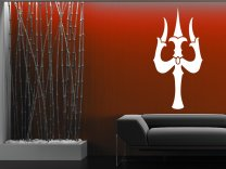 Trident of Shiva Decal