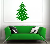 Classic Christmas Tree Decal