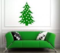 Classic Christmas Tree Decal