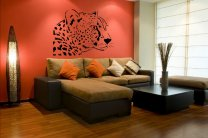 Beautiful Cheetah - Large Vinyl Decal