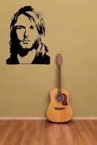 Kurt Cobain - Nirvana - Famous Vinyl Decal