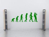 Evolution - Weed Smoker - Amusing Large Decoration