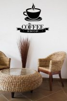 'The Coffee Shop' - Great Wall Decal