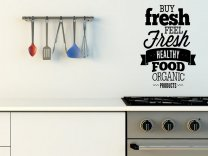 'Buy fresh feel fresh' - Large Window / Door / Wall / Car Sticker