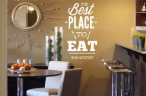 'The Best Place to Eat - Bon Appetit!' - Wall Decoration