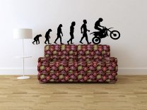 Evolution - Cross Motorbike - Amazing Vinyl Decor