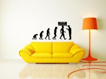Evolution - Stop following me! - Very Large Wall Decal