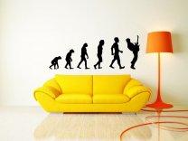 Evolution - Guitar - Fantastic Vinyl Decoration