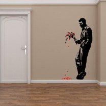 Banksy Graffiti 2013 - Hell's Kitchen - Wall Decor