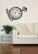 Pocket Watch - Retro Wall Sticker