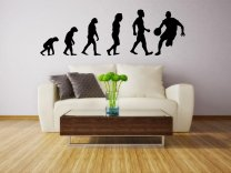 Evolution - Basketball - Large Wall Sticker