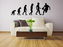 Evolution - Basketball - Large Wall Sticker