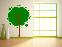 Elegant Huge Tree Wall Sticker