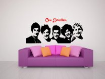 One Direction 1D celeb Decal