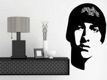 Eminem Portrait - Celeb Wall Sticker