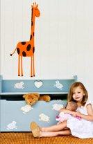 Lovely Giraffe - Nursery / Kids Room Wall Sticker