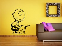 Banksy - Charlie Brown Firestarter - Vinyl Wall Sticker