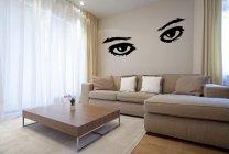 Amazing Huge Eyes - Vinyl Wall Decoration