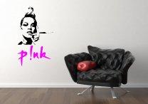 P!NK - Pink celeb silhouette - Amazing Vinyl Decoration