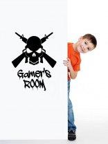 Gamers Room - Wall / Door Vinyl Sticker