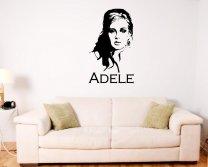 Adele Portrait - Celeb Silhouette Vinyl Decal