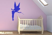 Magic Fairy / Tinkerbell - Nursery / Girls Room Wall Sticker
