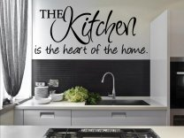 'The Kitchen is the heart of the home' - Amazing Kitchen Wall Sticker