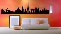 Paris Landscape - Giant Wall Sticker