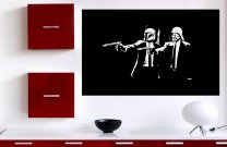 Star Wars Pulp Fiction - Iconic Wall Sticker