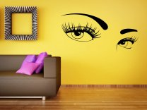 Seductive Woman's Eyes - Large Wall Decal