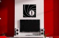 James Bond 007 - Modern Vinyl Wall Sticker