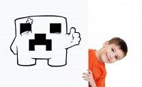 Minecraft Creeper - Gamer's Room Wall Sticker