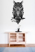 Amazing Owl - Large Wall Decal Sticker
