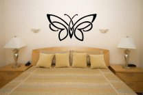 Butterfly Wall Tatoo - Vinyl Decoration