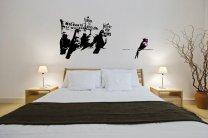 Banksy Graffiti 2014 - Anti Immigration Pigeons - Large Wall Sticker