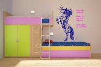 Fabulous Unicorn - Always be yourself - Amazing Wall Decoration