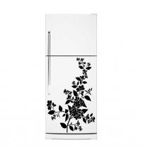 Cherry Blossom - Flowery Fridge Waterproof Vinyl Sticker