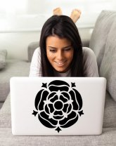Tudor Rose - Car / Laptop / Fridge / Wall Sticker