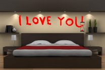 Banksy Graffitti 2016 - I love you - Stunning Wall Art Stickers