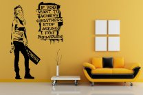 Banksy Graffitti 2016 - If you want to achieve greatness... - Large Wall Art Stickers