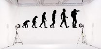 Evolution - Photographer Amazing Large Wall Decal High Quality Sticker