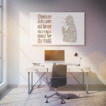 Sherlock Holmes - Eliminate all other factors Poster