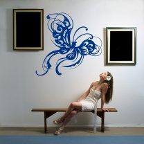 Butterfly Lovely Vinyl Sticker