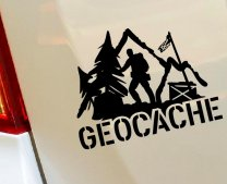 Designer Geocache - Vinyl Wall Decal For Real Hobbyist