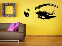 Women Seductive Eyes - Amazing Wall Decoration