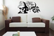 Designer - 'Keep Calm and Zombie On' - Vinyl Wall Sticker