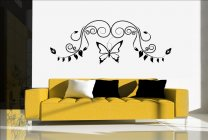 Delicate Butterfly Vinyl Decoration