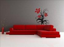 Flourishing Flowers Vinyl Pattern