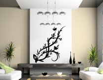 Flower Wall Decal Large